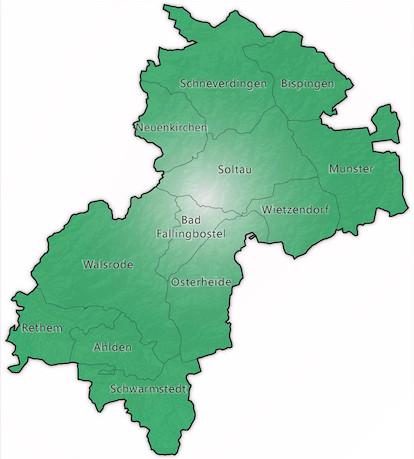 Landkreise und gemeinden in niedersachsen